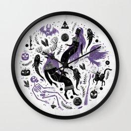 Samhain Wall Clock