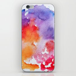 Vivid - abstract painting with pink, purple, red, orange, blue colors that pop iPhone Skin