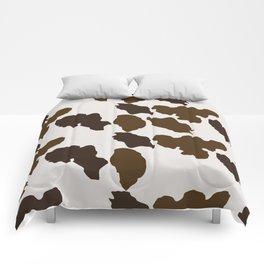 Cowhide Pattern Comforters