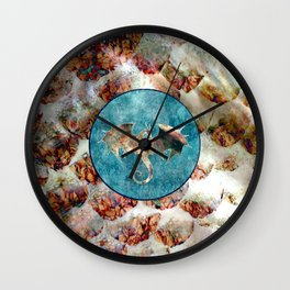 Dragon Scale Pattern Ramoth Wall Clock