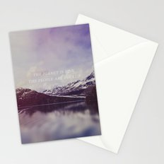 The Planet is Fine Stationery Cards