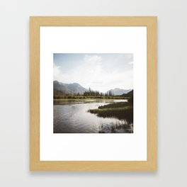 Vermillion Lakes | Banff National Park, Alberta, Canada | John Hill Photography Framed Art Print