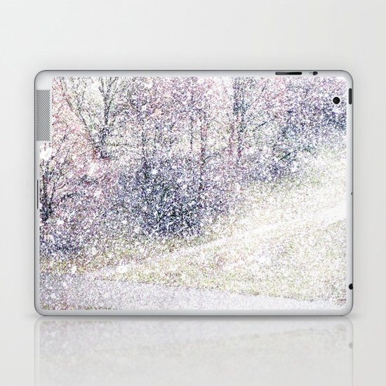 Snow in early fall(2). Laptop & iPad Skin