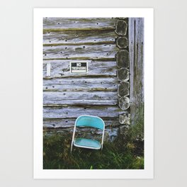 Faust with Nothing Art Print