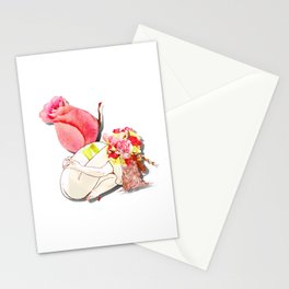 Nude rose Stationery Cards
