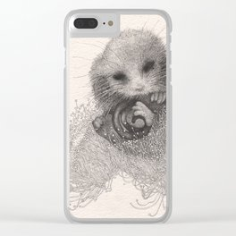 Blossom nap Clear iPhone Case