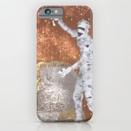 Blurred Zombie iPhone Case