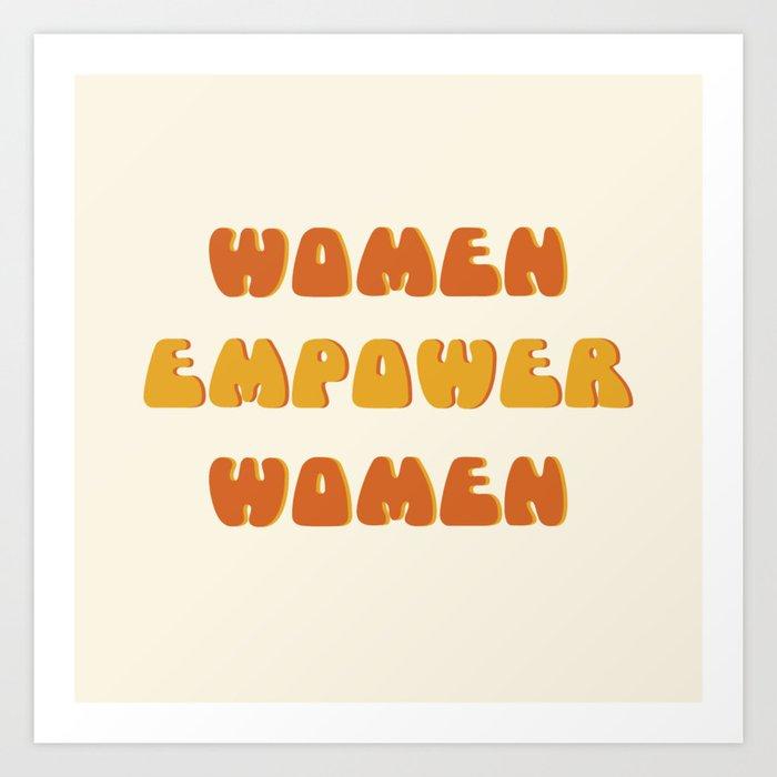 Women Empower Women 2 Kunstdrucke