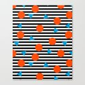 Yadda Yadda - memphis lines stripes dots triangles geometric abstract minimal print pattern wacka yo by wacka