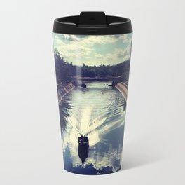 I Love Lam Tsuen River Travel Mug
