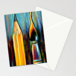 Pen, Pencil, Brush Stationery Cards