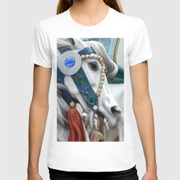 Carousel horse 01 T-shirt