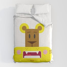 Cute Cartoon Lioness Comforters