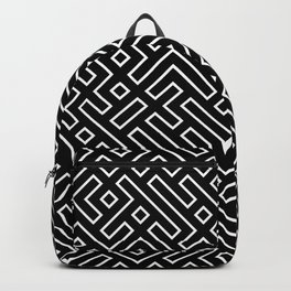 straight labyrinth Backpack