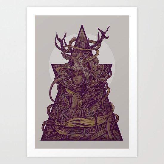 Beautiful Deer Art Print