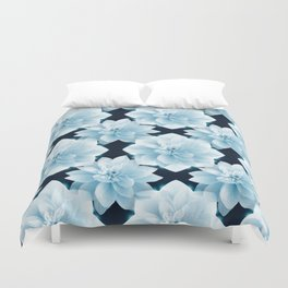 Lotus Flowers Duvet Cover