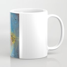 Of the Earth 4 by Nadia J Art Coffee Mug