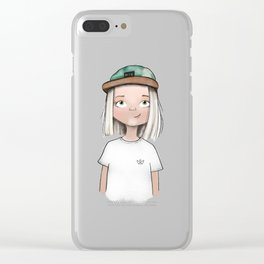 Julia Clear iPhone Case