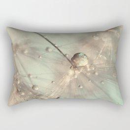 dandelion mint Rectangular Pillow