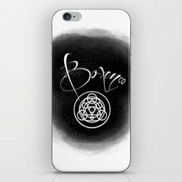 Boxen CO Brand iPhone Skin