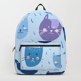 Little blue cats Backpack