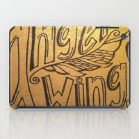 angel wings iPad Cases featuring Angel Wings by Eve Beth