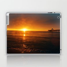 Sunrise with Raindrop Bokeh Laptop & iPad Skin