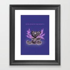 You're even better than eucalyptus. Framed Art Print