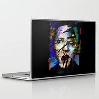 christopher walken Laptop & iPad Skins featuring Christopher Walken. Cracked Actor. by brett66