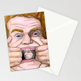 """""""Holy Schnikes!"""" by Cap Blackard Stationery Cards"""