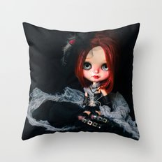 Blythe Royal Soliloquy doll Throw Pillow