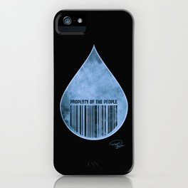 Water : Property of the People 2 iPhone Case