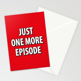 Just on more episode! Stationery Cards