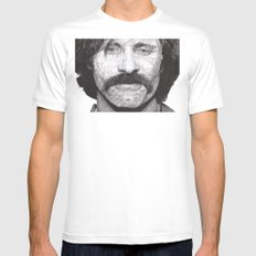 Viggo White LARGE Mens Fitted Tee
