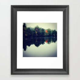 VA autumn Framed Art Print