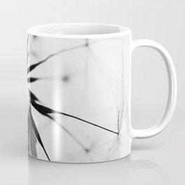 Dandelion BW Coffee Mug