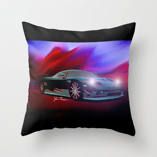Koenigsegg Throw Pillow
