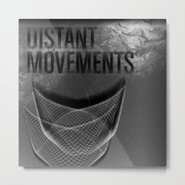 Distant Movements (Forgotten Broadcast) Metal Print