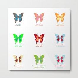 Butterflies 9 Metal Print