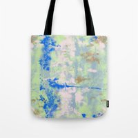 tie dye Tote Bags featuring Tie Dye by Wendy Ding: Illustration