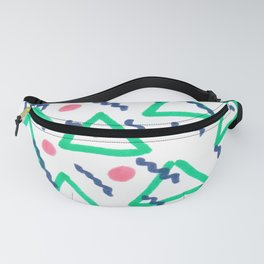 90s Squiggle Fanny Pack