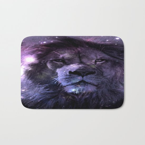 GALAXY LION LEO Bath Mat