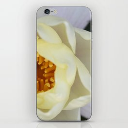 White Lilly 2 iPhone Skin