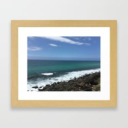 Burleigh Heads Australia Ocean Framed Art Print