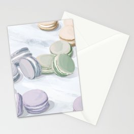 Polished Macarons Stationery Cards
