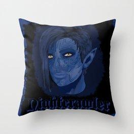 Nightcrawler Throw Pillow