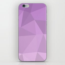 Purple Ombre - Flipped iPhone Skin