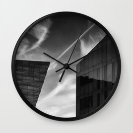 The Space Between Wall Clock