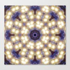 Space Mandala no1 Canvas Print