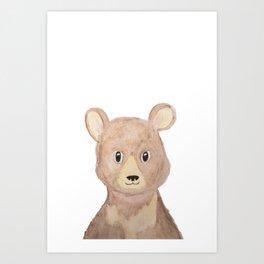Man Cub Art Print